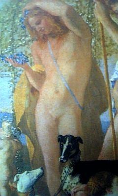 全裸の「女性」?